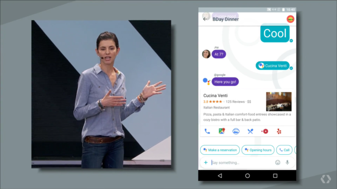 谷歌新聊天软件Allo VS 微信